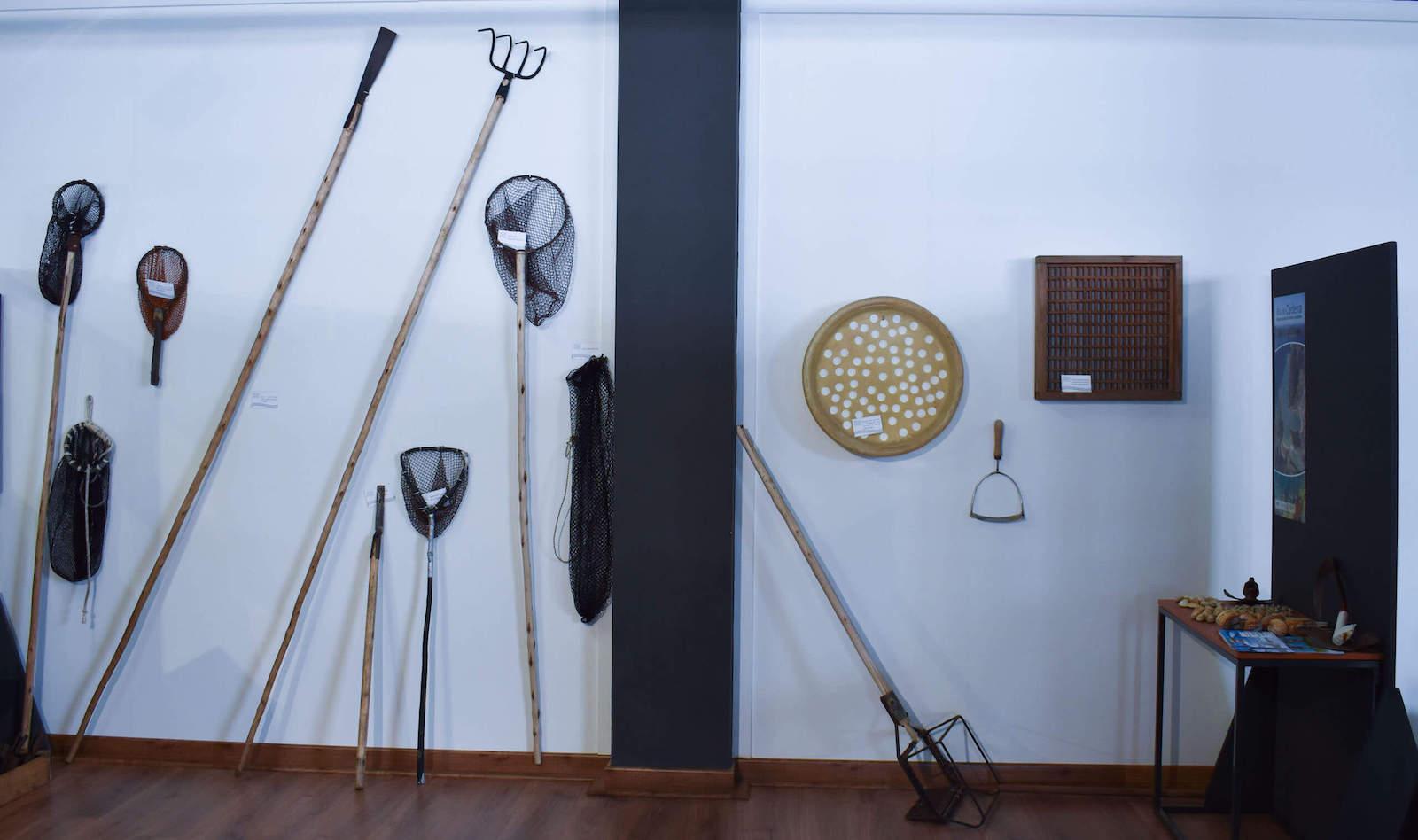 Ejemplo de herramientas para Marisqueo - Sala de Marisqueo