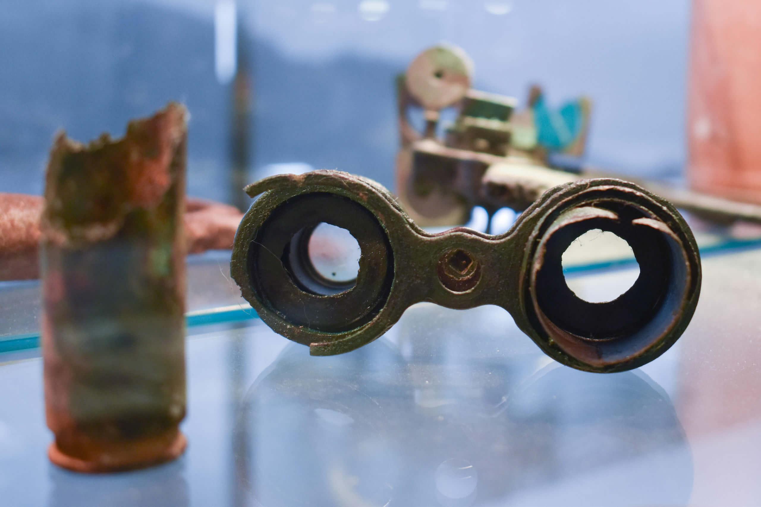 Antiguo catalejo marino retales de historias de Cedeira